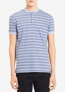 Calvin Klein Men's Variegated Stripe Henley