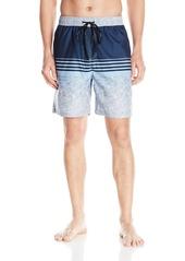 Calvin Klein Men's Water Stripe Volley Swim Trunk