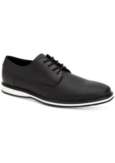 Calvin Klein Men's Wilfred Saffiano Leather Oxfords Men's Shoes