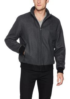Calvin Klein Men's Wool Bomber Coat