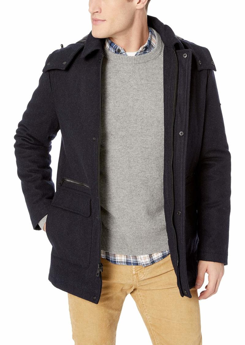 Calvin Klein Men's Wool Duffle Coat