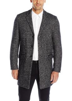 Calvin Klein Men's Heather Wool Over Coat