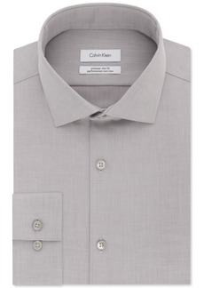 Calvin Klein Men's X Extra-Slim Fit Performance Non-Iron Dress Shirt