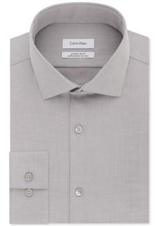 Calvin Klein Men's X Extra-Slim Fit Tall Performance Non-Iron Dress Shirt