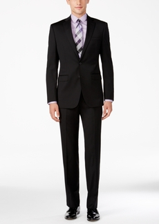 Calvin Klein Men's X-Fit Black Slim Fit Suit