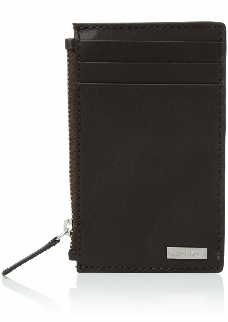 Calvin Klein Men's Zip Around Wallet