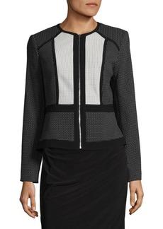 Calvin Klein Mesh Detail Zip Jacket
