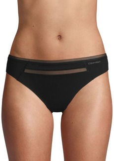 Calvin Klein Invisibles with Mesh Thong