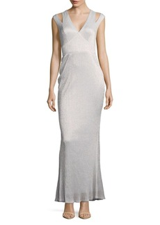 Calvin Klein Metallic Accent Dress