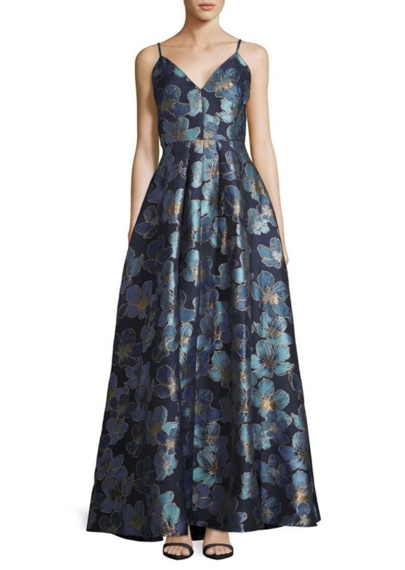 ae0746ae685f Calvin Klein Metallic Floral Ball Gown | Dresses