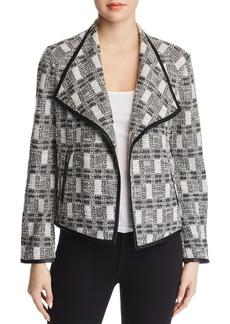 Calvin Klein Metallic Tweed Jacket