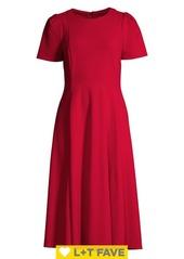 Calvin Klein Midi Fit-&-Flare Dress