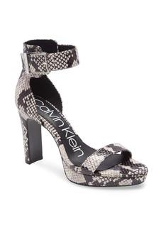 Calvin Klein Milana Ankle Strap Sandal (Women)