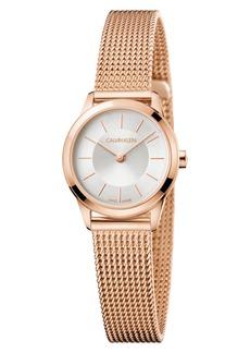 Calvin Klein Minimal Mesh Strap Watch, 24mm