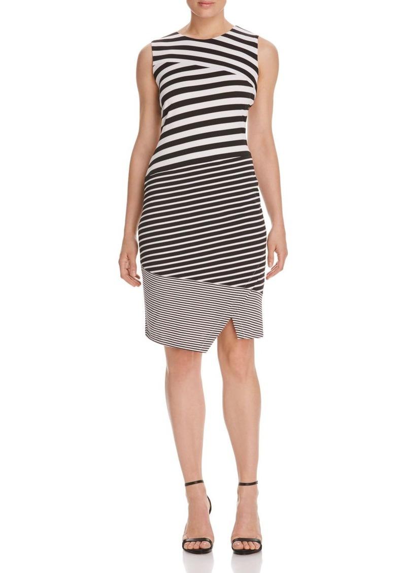 Calvin Klein Mixed Stripe Dress