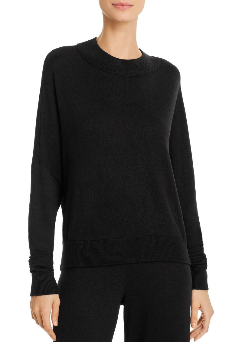 Calvin Klein Mock-Neck Lounge Top