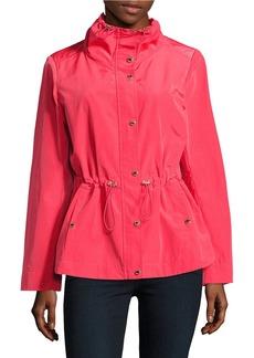 CALVIN KLEIN Mockneck Rain Coat