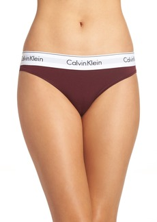 Calvin Klein 'Modern Cotton Collection' Cotton Blend Bikini