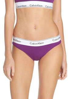 Calvin Klein 'Modern Cotton Collection' Cotton Blend Bikini Briefs