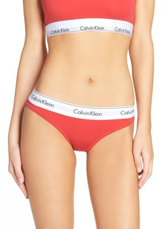 Calvin Klein 'Modern Cotton Collection' Cotton Blend Bikini Panty