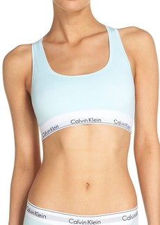Calvin Klein 'Modern Cotton Collection' Cotton Blend Racerback Bralette