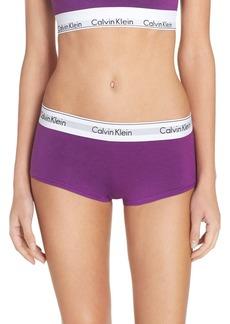 Calvin Klein 'Modern Cotton Collection' Pima Cotton Blend Boyshorts