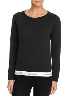 Calvin Klein Modern Cotton Crewneck Lounge Sweatshirt