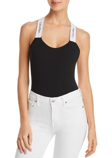Calvin Klein Modern Cotton Criss-Cross Bodysuit