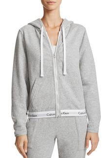 Calvin Klein Modern Cotton Full Zip Hoodie