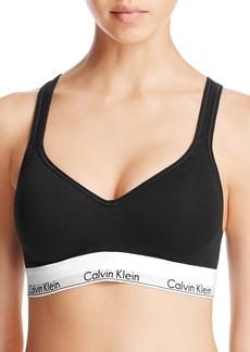 Calvin Klein Modern Cotton Lined Bralette