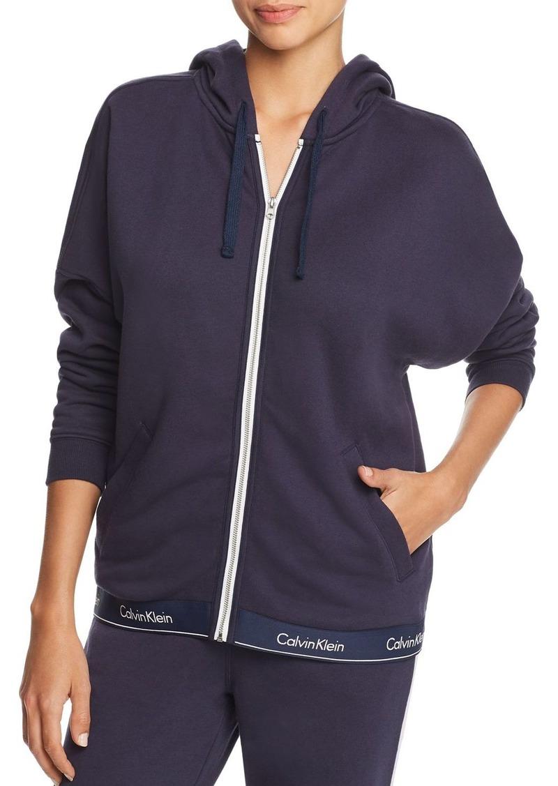 Calvin Klein Modern Cotton Lounge Zip Hoodie