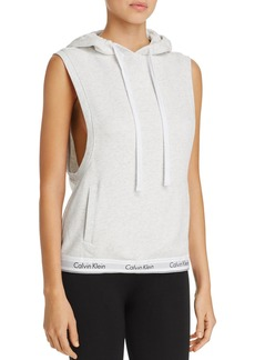 Calvin Klein Modern Cotton Sleeveless Hoodie Top