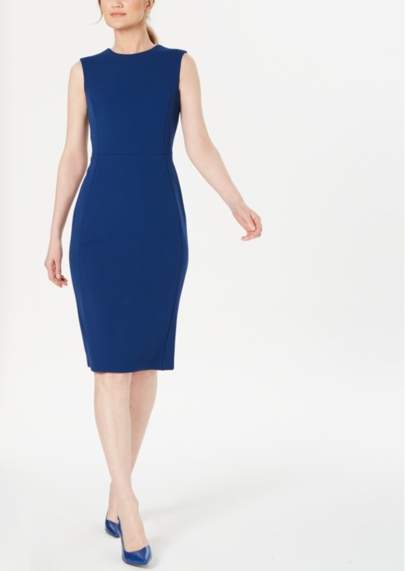 Calvin Klein Modern Stretch Sheath Dress