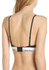 Calvin Klein Modern Triangle Bralette