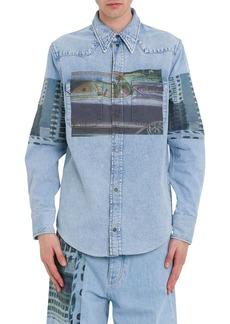 Calvin Klein Mondernist Printed Western Shirt