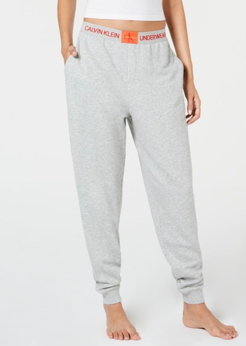Calvin Klein Calvin Klein Monogram Lounge Jogger Pants QS6031 ... e99d3fecb