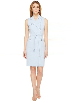 Calvin Klein Moto Belted Dress CD6X55F7