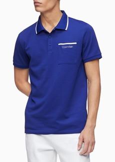 Calvin Klein Men's Move 365 Logo Tipped Polo Shirt
