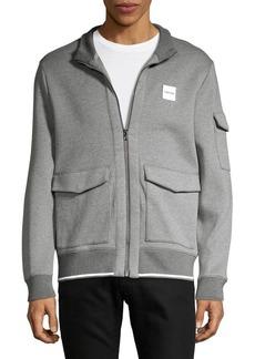Calvin Klein Multi-Pockets Zip Front Jacket