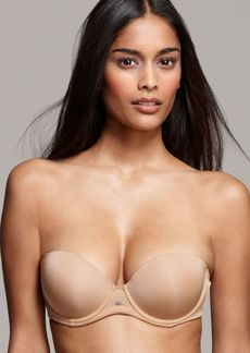 Calvin Klein Naked Glamour Strapless Push-Up Bra