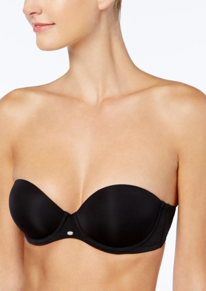 fd78854377e2c Calvin Klein Calvin Klein Naked Glamour Strapless Push Up Bra F3493 ...