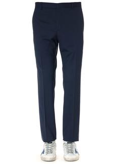 Calvin Klein Navy Virgin Wool Trousers