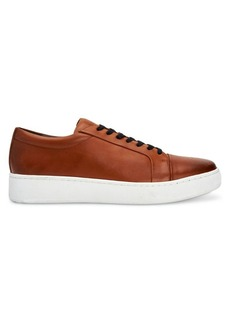 Calvin Klein Nemi Leather Platform Sneakers