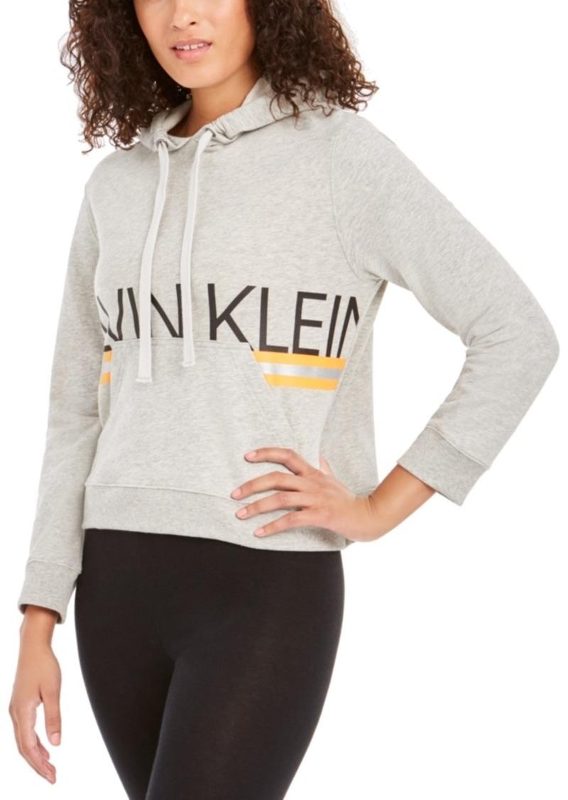 Calvin Klein Neon Long-Sleeve Lounge Hoodie