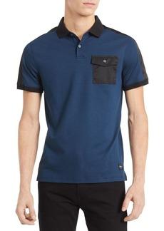 Calvin Klein New Essentials Liquid Touch Regular-Fit Cotton Polo