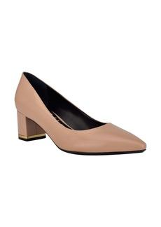 Calvin Klein Nita Block Heel Pump (Women)