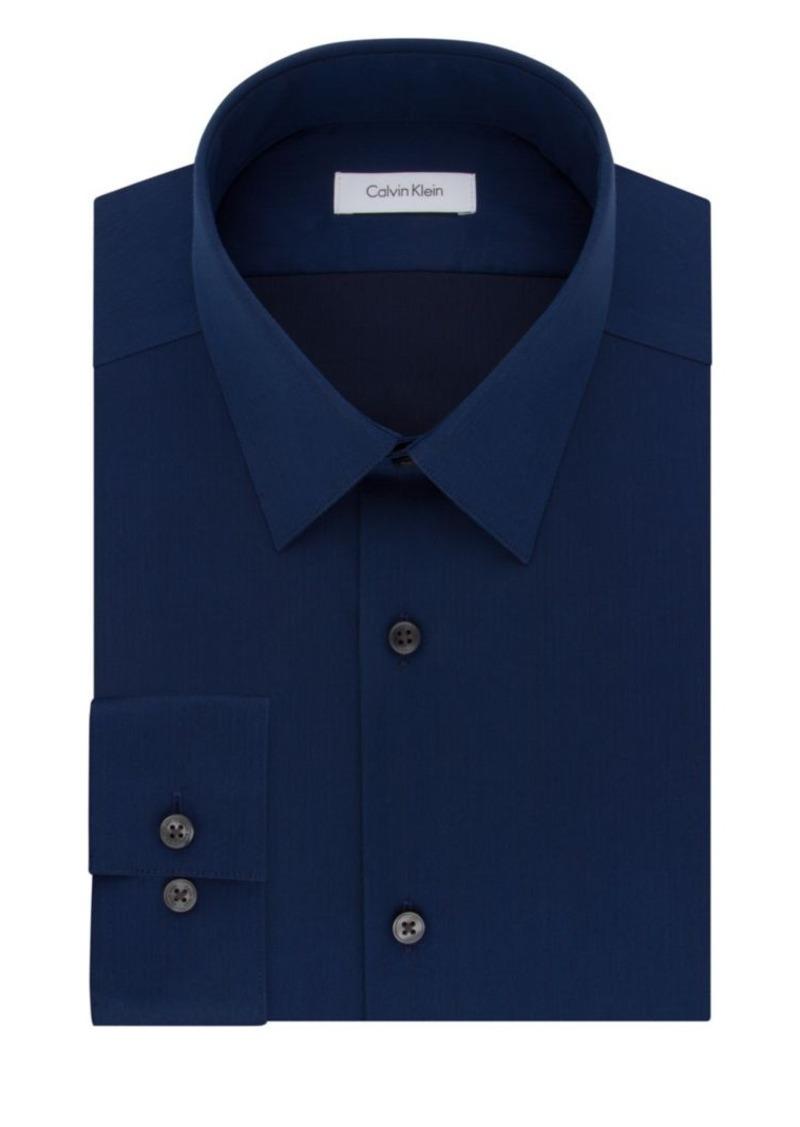 Calvin Klein Calvin Klein Slim Fit Solid Dress Shirt