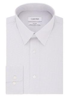 Calvin Klein Non-Iron Printed Dress Shirt