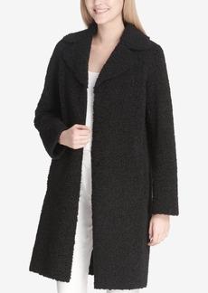 Calvin Klein Notch-Collar Faux-Shearling Jacket