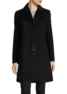Calvin Klein Notch Lapel Coat